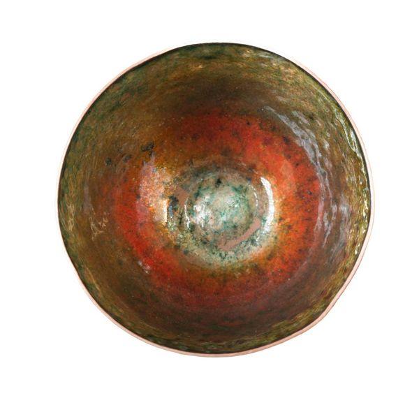 Emaillierte Kupferschale 152