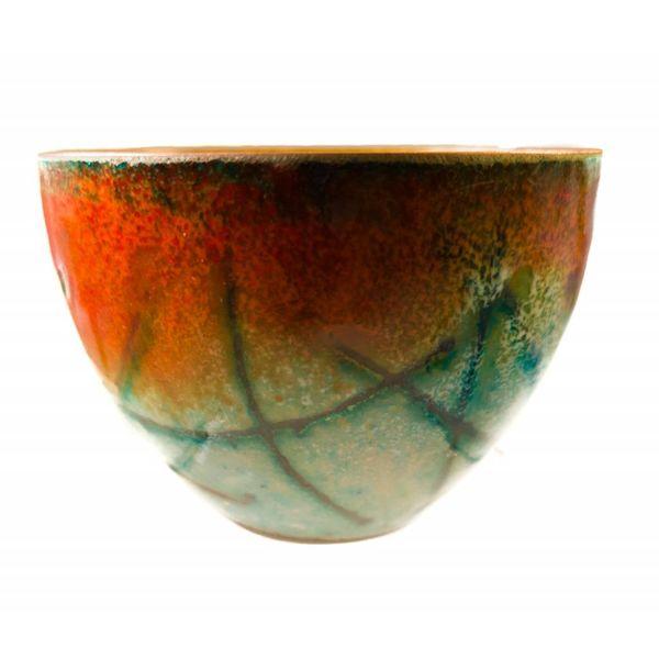 Enamelled Copper Bowl 153