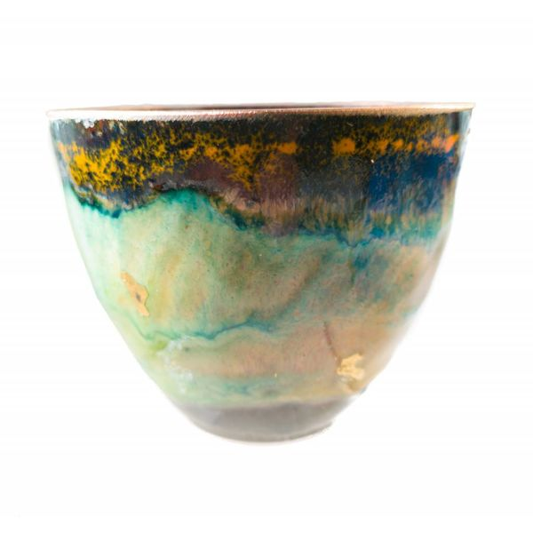Enamelled Copper Bowl 154