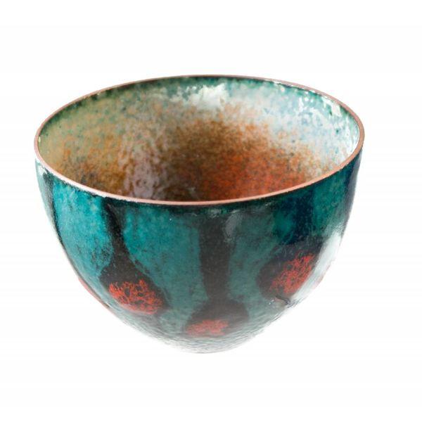 Tazón de cobre esmaltado 151