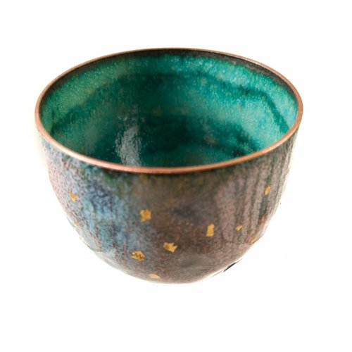 Pat Johnson Enamelled Copper Bowl 149