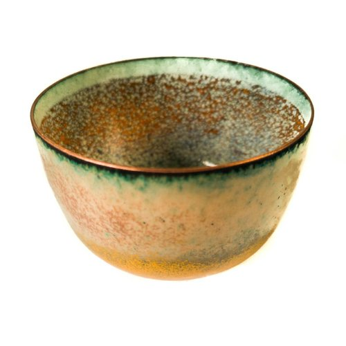 Pat Johnson Enamelled Copper Bowl 155