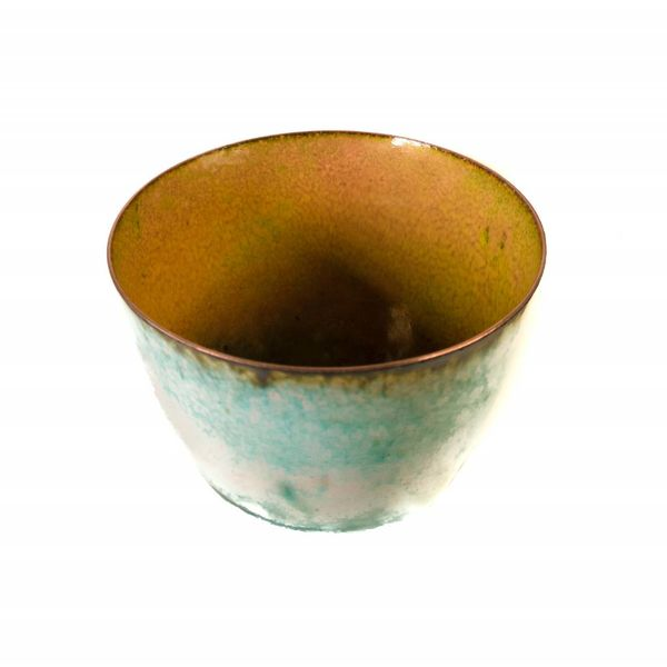 Tazón de cobre esmaltado 156