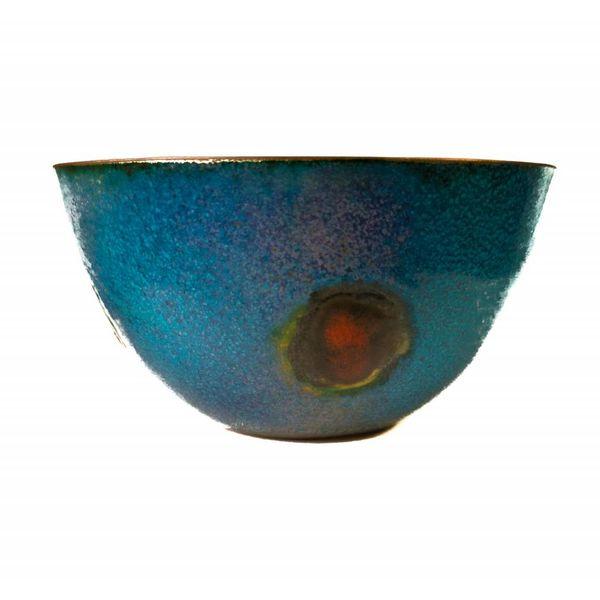 Enamelled Copper Bowl 158