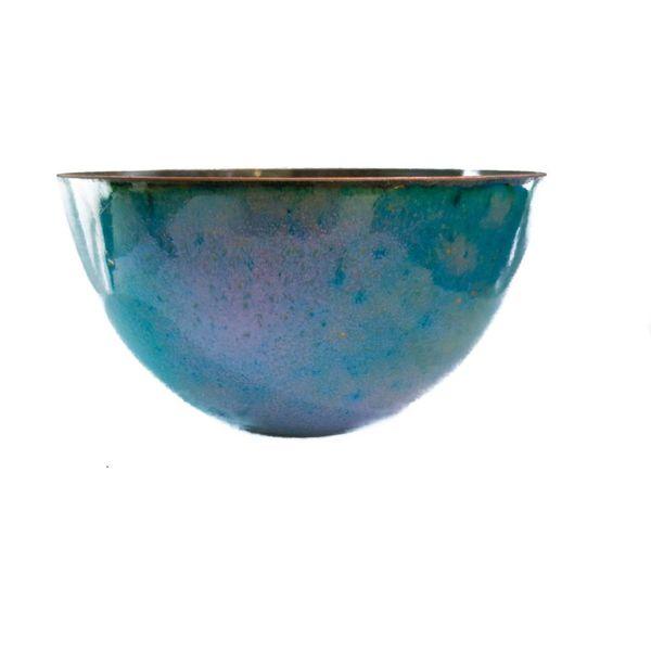 Enamelled Copper Bowl 159