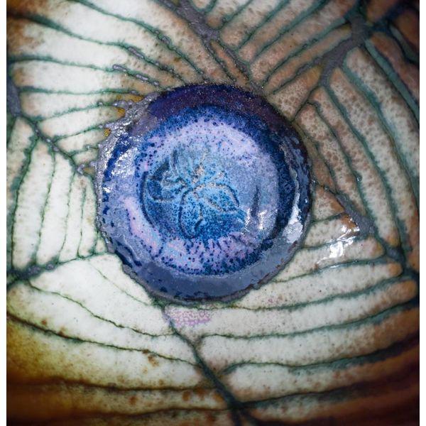 Tazón de cobre esmaltado 161