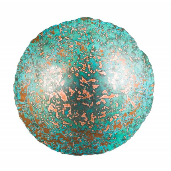 Etched copper bowl 25
