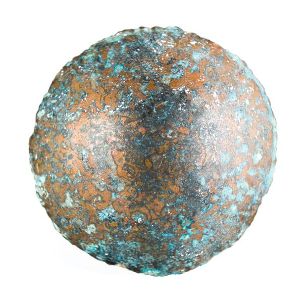 Etched copper bowl 27