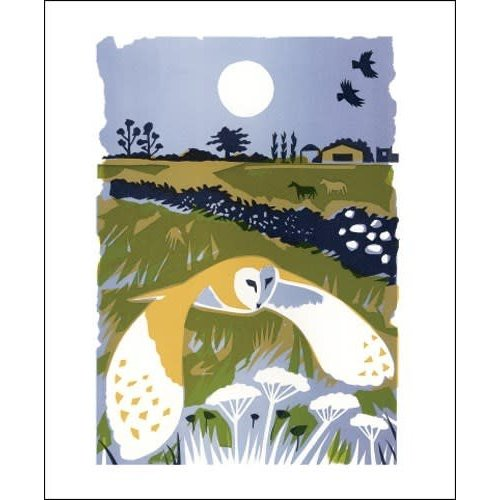Art Angels Barn Owl by Carry Akroyd