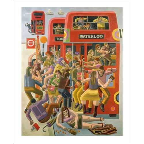 Art Angels Rush Hour by William Roberts