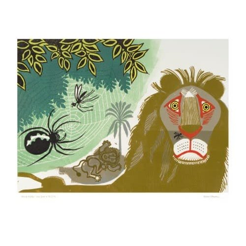 Art Angels The Gnat and the Lion by Edward Bawden