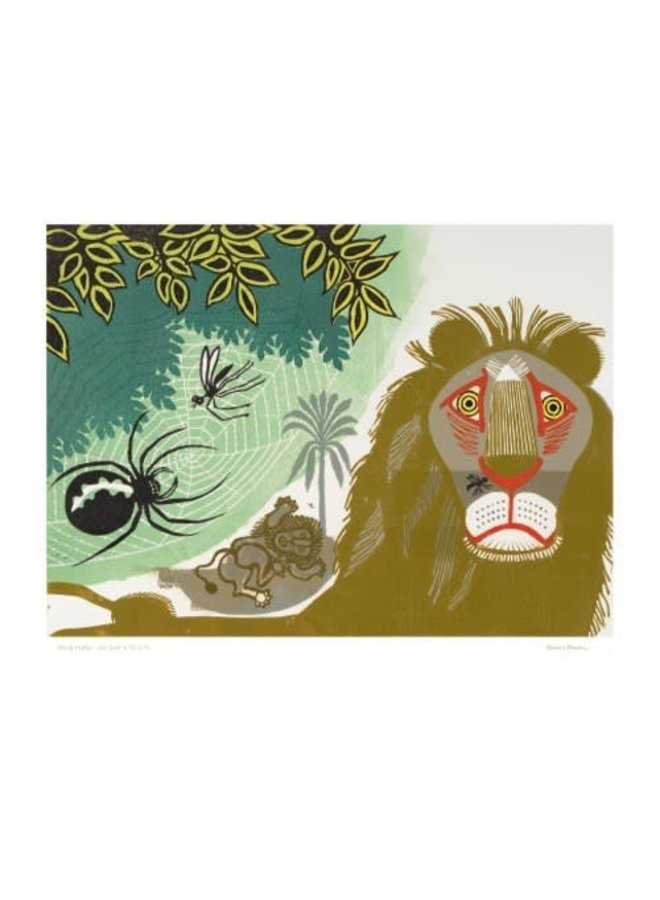 The Gnat and the Lion by Edward Bawden