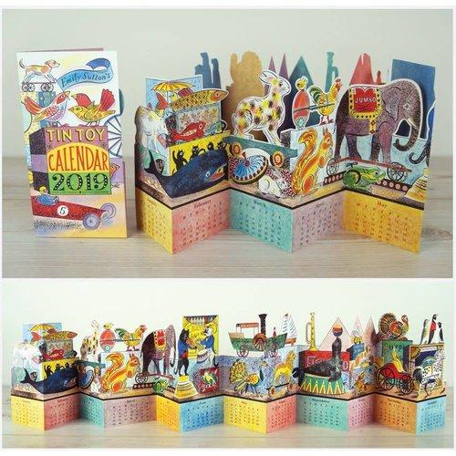 Art Angels Tin Toy 2019 Calendar by Emily Sutton