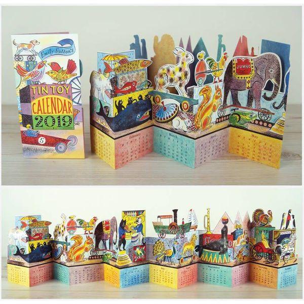 Tin Toy 2019 Calendar by Emily Sutton
