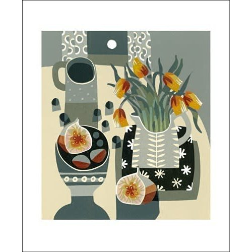 Art Angels Tulips and Fig by Jane Walker