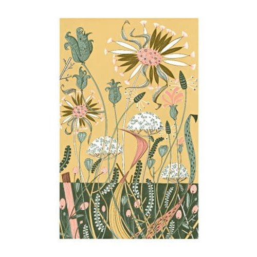 Art Angels Wild Garden II by Angie Lewin