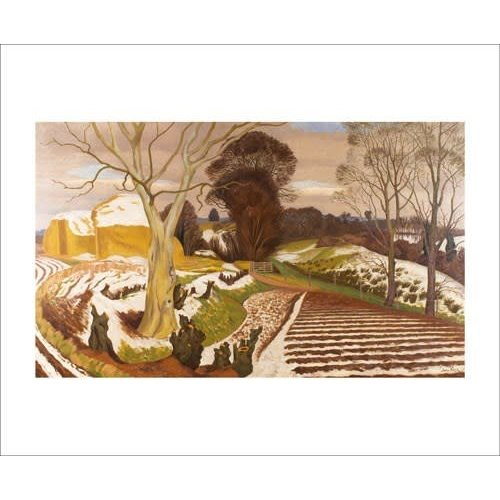 Art Angels Winter Scene by John Nash