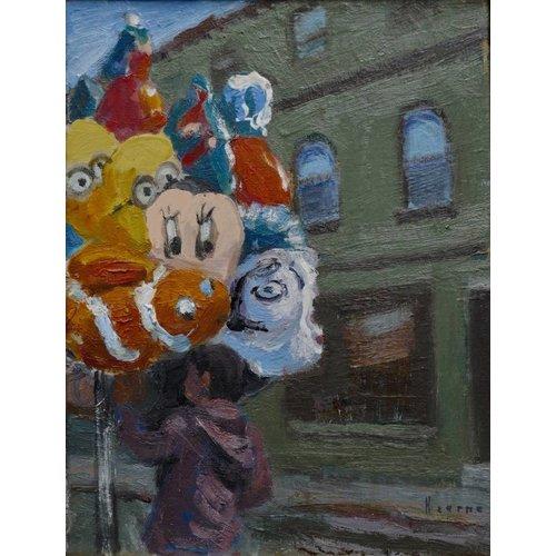 Martin Hearne Ballonverkäufer