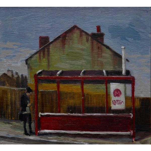 Estudio de parada de autobús