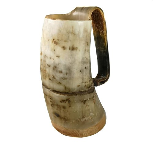 Abbey Horn Rustic Drinking Mug oxhorn no.3