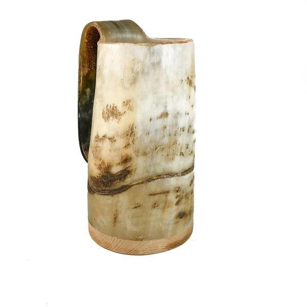 Rustic Drinking Mug oxhorn no.3