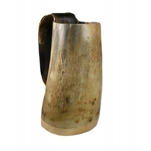 Abbey Horn Rustic Drinking Mug oxhorn no.2