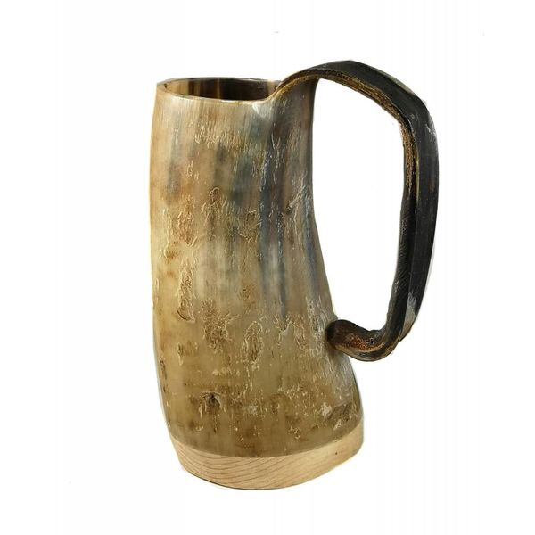 Rustic Drinking Mug oxhorn no.2