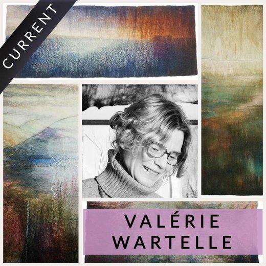 Eine Geschichte von Faden und Farbe von Valerie Wartelle