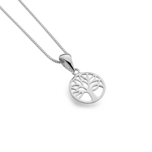 Sea Gems Tree of life silver  necklace