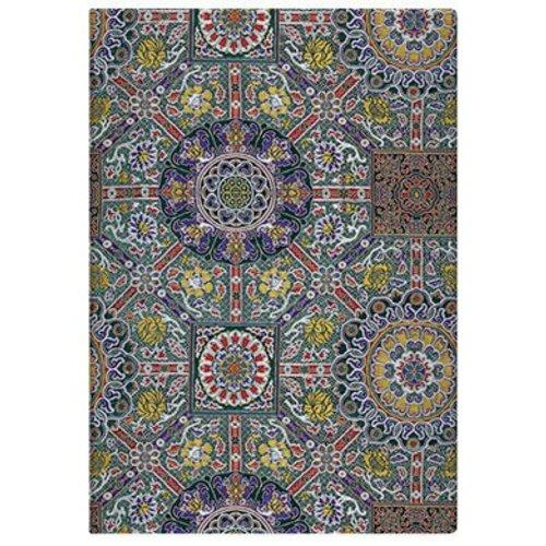 Paper Blanks Sacred Textiles Padma unlined 125 X 170mm (Midi), 176p.Elastic