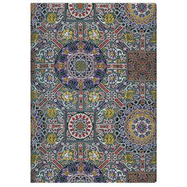 Sacred Textiles Padma unlined 125 X 170mm (Midi), 176p.Elastic
