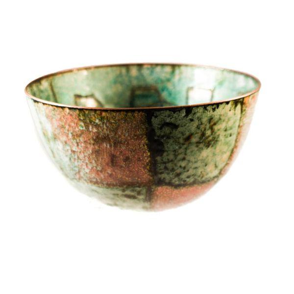 Tazón de cobre esmaltado 126