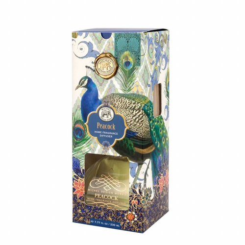 Michel Design Works Peacock Home Fragrance Diffuser 230ml.