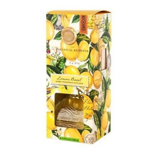 Michel Design Works Lemon Basil Home Fragrance Diffuser 230ml.