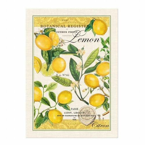 Michel Design Works Toalla de cocina de albahaca limón