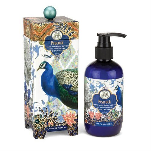 Michel Design Works Peacock Hand and Body Lotion 236ml