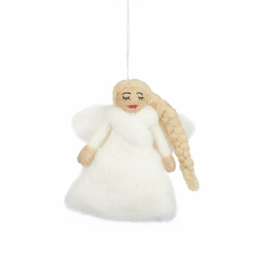Felt So Good Felt Angel Tree Top Ornament