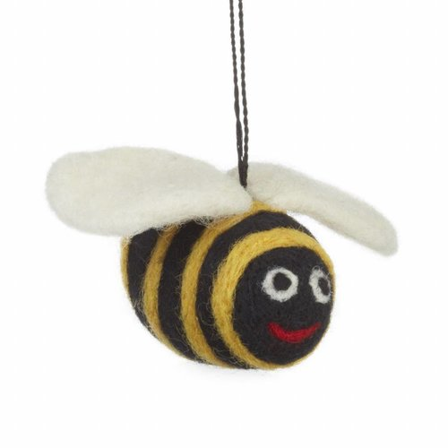 Felt So Good Felt Big Bumble Bee Ornament