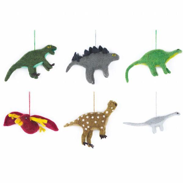 Felt Dinosaur- Apatosaurus  Ornament