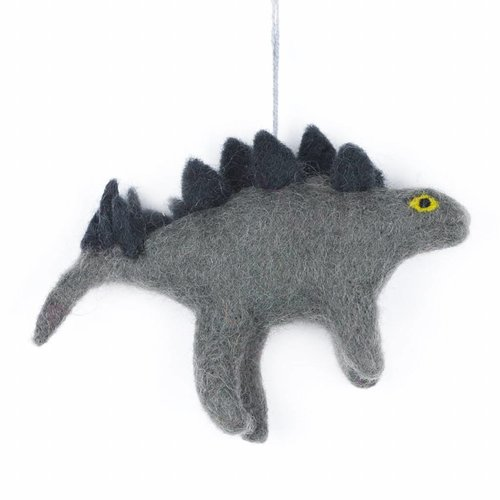 Felt So Good Felt Dinosaur- Stegosaurus Ornament