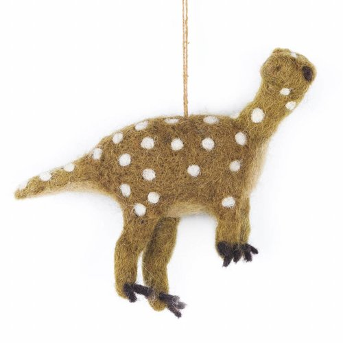 Felt So Good Felt Dinosaur-Iguanodon Ornament