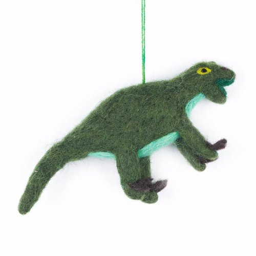 Felt So Good Felt dinosaur-Velociraphtor Ornament