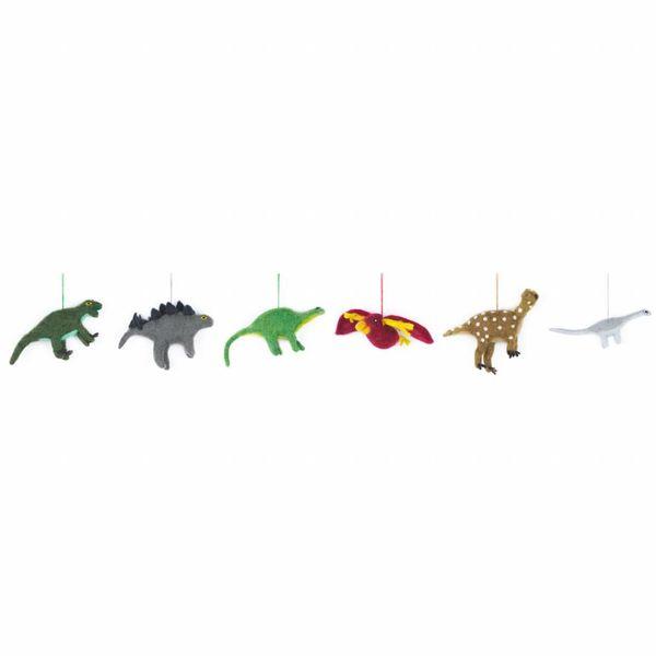 Felt dinosaur-Velociraphtor Ornament