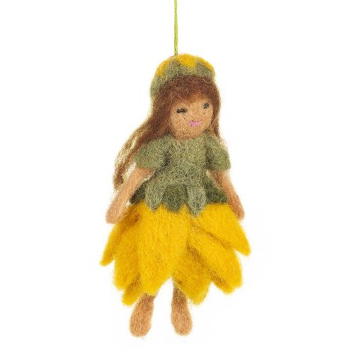 Felt So Good Felt Forest Fairy Ornament