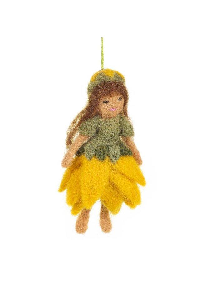 Felt Forest Fairy Ornament