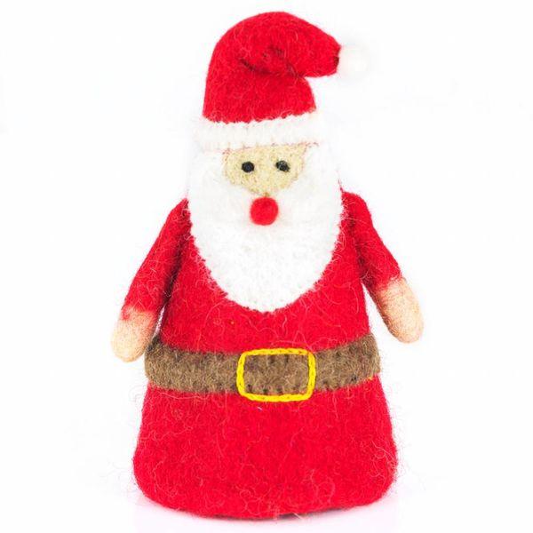 Felt Santa Tree Top Ornament