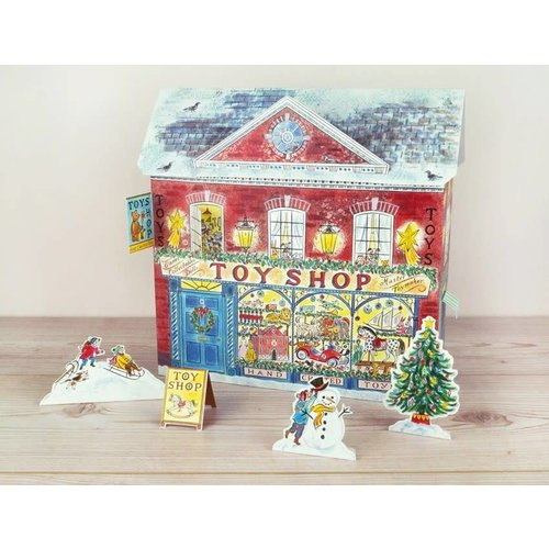 Art Angels Toy Shop  Advent Calendar By Emily Sutton