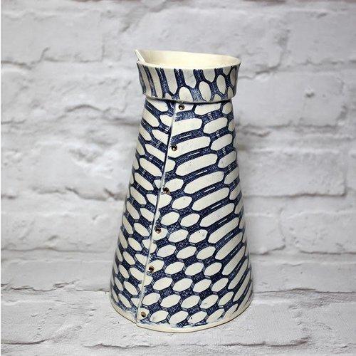 Vanessa Conyers Paris Peony Vase Gothic Dot