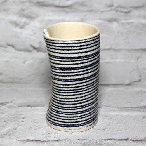 Vanessa Conyers Paris Liberty stripe posy vase