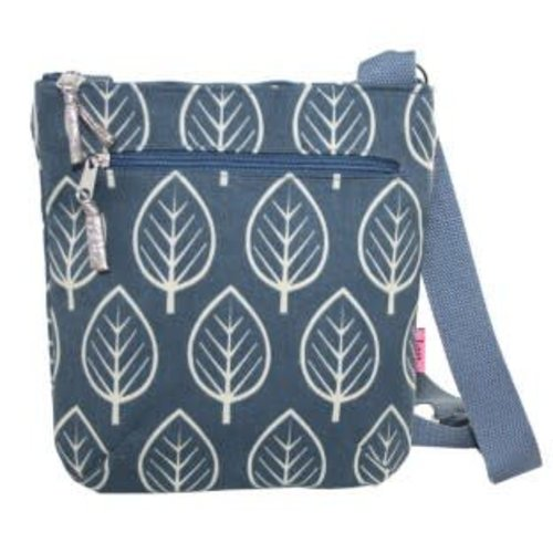 LUA Messenger cross body zipped bag